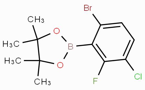 6-Bromo-3-chloro-2-fluorophenylboronic acid pinacol ester