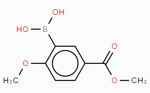 2-Methoxy-5-methoxycarbonylphenyboronic acid