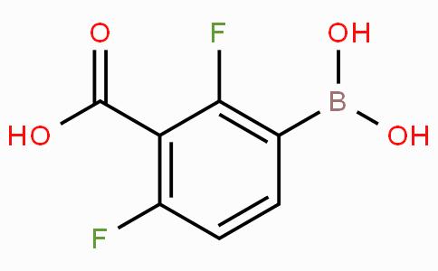 3-Carboxy-2,4-difluorophenylboronic acid