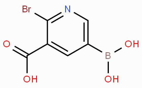 2-溴-3-羧基吡啶-5-硼酸