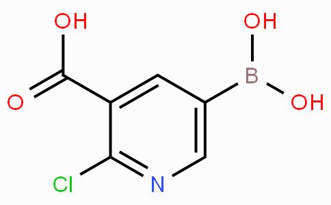 3-羧基-2-氯吡啶-5-硼酸