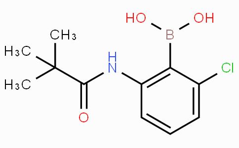 2-(tert-Butylcarbonylamino)-6-chlorophenylboronic acid