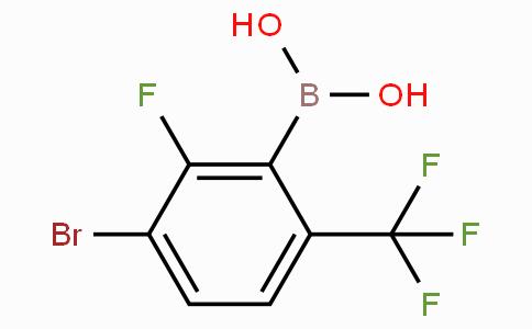 3-Bromo-2-fluoro-6-(trifluoromethyl)phenylboronic acid
