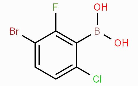 3-Bromo-6-Chloro-2-fluorophenylboronic acid