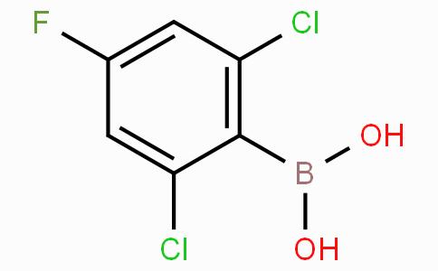 2,6-Dichloro-4-fluorophenylboronic acid
