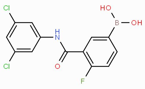 3-(3,5-dichlorophenylcarbamoyl)-4-fluorophenylboronic acid
