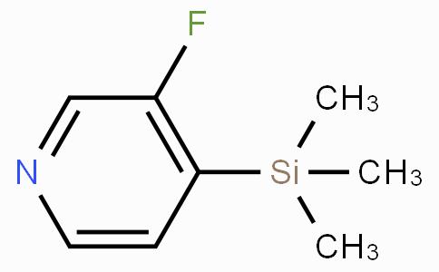 3-Fluoro-4-(trimethylsilyl)pyridine