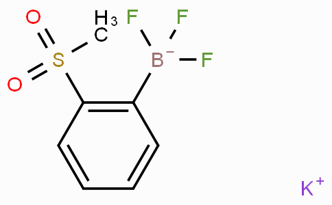 POTASSIUM (2-METHYLSULFONYLPHENYL)TRIFLUOROBORATE