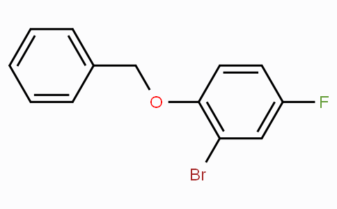2-Bromo-4-fluorophenyl benzyl ether
