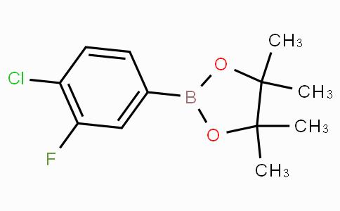4-Chloro-3-fluorophenylboronic acid pinacol ester