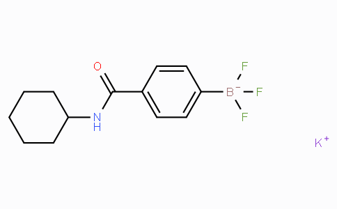 Potassium 4-(cyclohexylcarbamoyl)phenyltrifluoroborate