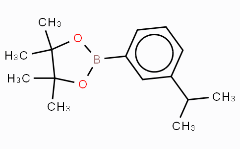 3-Isopropylphenylboronic acid, pinacol ester