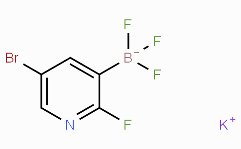 Potassium (5-bromo-2-fluoropyridin-3-yl)trifluoroborate