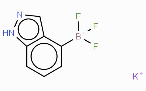 Borate(1-), trifluoro-1H-indazol-4-yl-, potassium (1:1), (T-4)-