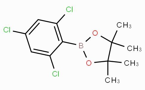 4,4,5,5-tetramethyl-2-(2,4,6-trichlorophenyl)-1,3,2-dioxaborolane
