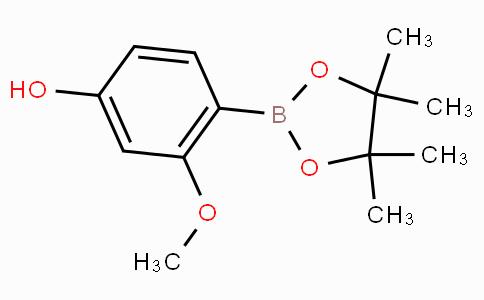 4-Hydroxy-2-methoxyphenylboronic acid pinacol ester