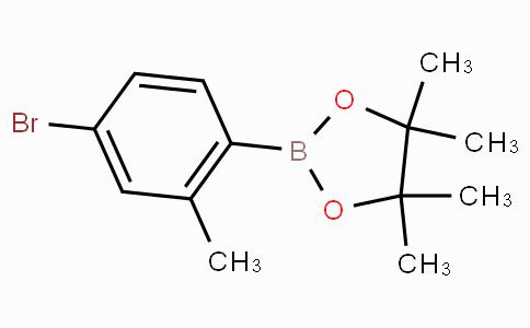 2-(4-Bromo-2-methylphenyl)-4,4,5,5-tetramethyl-1,3,2-dioxaborolane