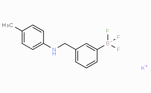Potassium 3-((4-methylphenylamino)methyl)phenyltrifluoroborate