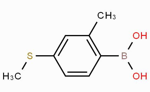 2-Methyl-4-methylthiophenylboronic acid