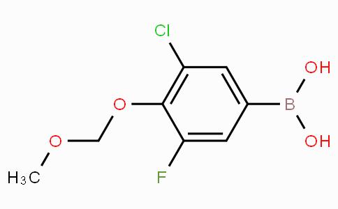 3-Chloro-5-fluoro-4-(methoxymethoxy)phenylboronic acid