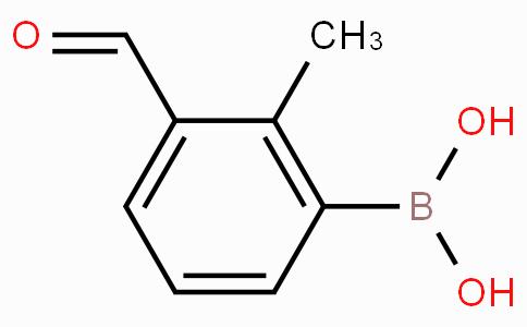 3-Formyl-2-methylphenylboronic acid