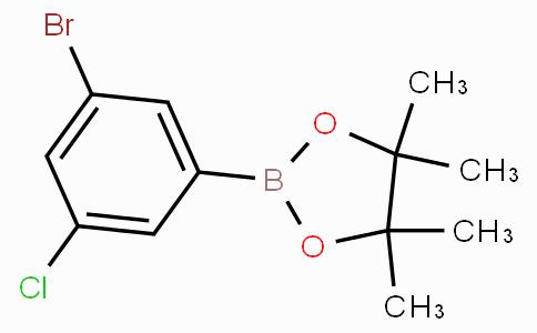 3-Bromo-5-chlorophenylboronic acid pinacol ester