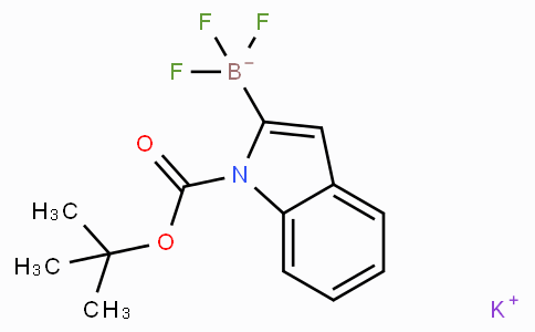 Potassium (1-Boc-1H-indol-2-yl)trifluoroborate