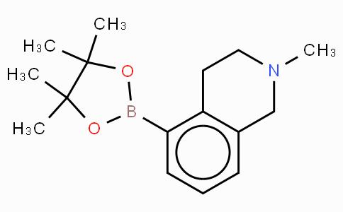 2-N-Me-5-B(Pin)-1,2,3,4-tetrahydroisoquinoline