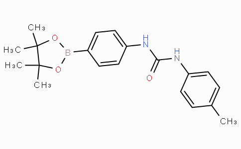 (4-(3-(4-Methyphenyl)ureido)phenyl)boronic acid pinacol ester