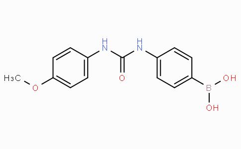 (4-(3-(4-Methoxyphenyl)ureido)phenyl)boronic acid