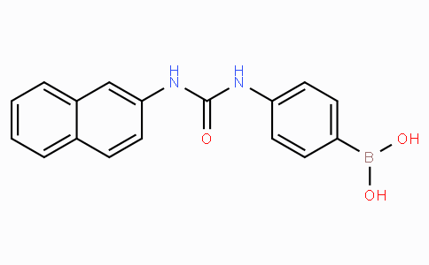 (4-(3-(Naphthalen-2-yl)ureido)phenyl)boronic acid
