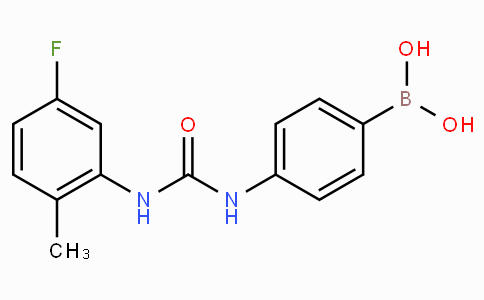 (4-(3-(5-Fluoro-2-methylphenyl)ureido)phenyl)boronic acid