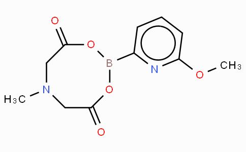 6-Methoxy-2-pyridinylboronic acid MIDA ester