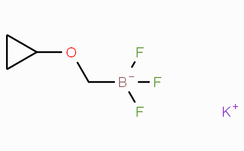 Potassium (cyclopropoxymethyl)trifluoroborate