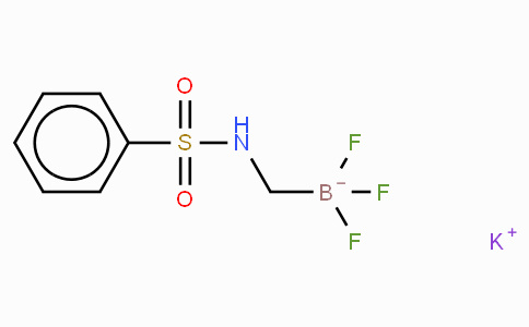 Potassium trifluoro(phenylsulfonamidomethyl)borate