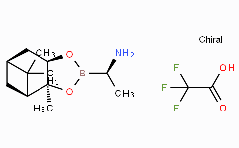 (R)-BoroVal-(+)-Pinanediol-CF3CO2H