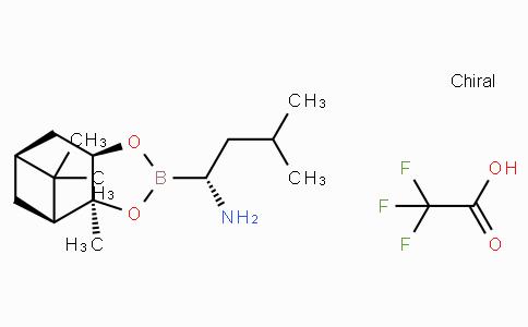 (R)-BoroLeu-(+)-Pinanediol-CF3CO2H