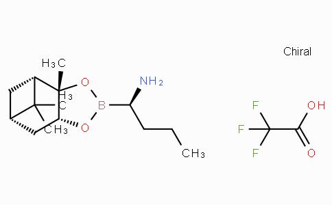 (R)-BoroAbu-(+)-Pinanediol-CF3CO2H