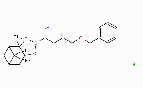 (R)-Boro-Nva(4-OBn)-(+)-Pinanediol-HCl