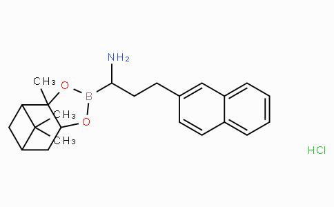 (R)-BoroAbu(β-Naphthalenyl)-(+)-Pinanediol-HCl