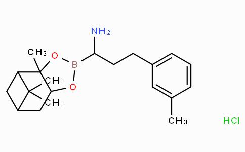 (R)-Borohomo(3-Me)Phe-(+)-Pinanediol-HCl