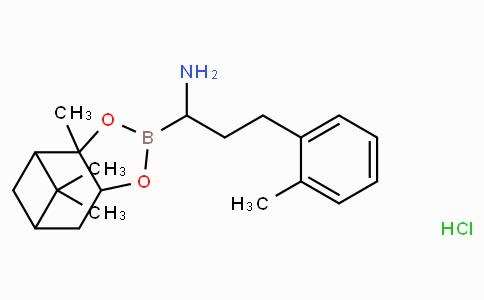 (R)-Borohomo(2-Me)Phe-(+)-Pinanediol-HCl