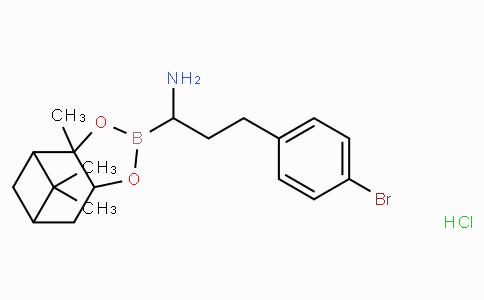 (R)-Borohomo(4-Br)Phe-(+)-Pinanediol-HCl