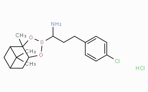(R)-Borohomo(4-Cl)Phe-(+)-Pinanediol-HCl