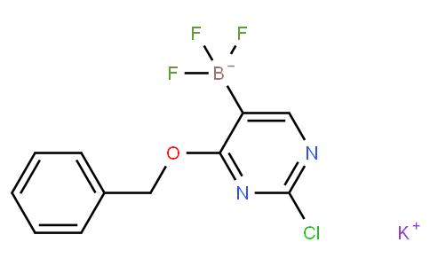 Potassium (4-benzyloxy-2-chloropyrimidin-5-yl)trifluoroborate
