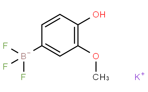 Potassium 4-hydroxy-3-methoxyphenyltrifluoroborate