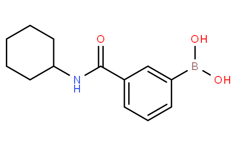 3-(Cyclohexylaminocarbonyl)phenylboronic acid