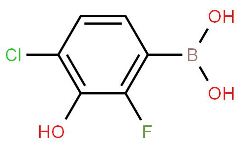 4-Chloro-2-fluoro-3-hydroxyphenylboronic acid