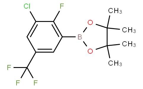 3-Chloro-2-fluoro-5-(trifluoromethyl)phenylboronic acid pinacol ester