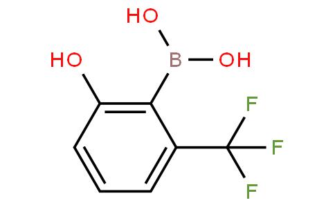 2-Hydroxy-6-trifluoromethylphenylboronic acid